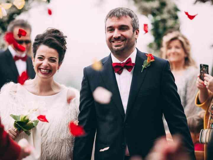 La boda de Javi y Noe: el glamur como gran protagonista