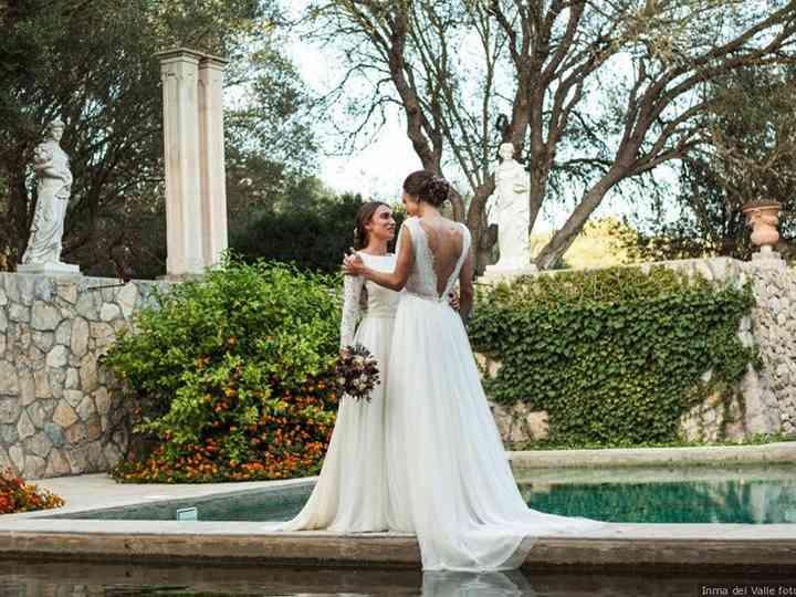Siempre suyas: Maria y Anna casadas en una boda íntima e inolvidable