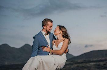 """El """"sí, quiero"""" de Isa y Miguel: una fiesta con mucho amor"""
