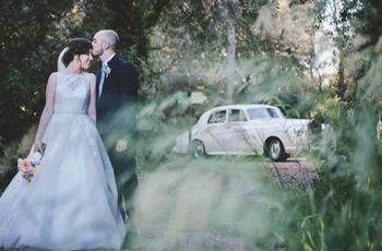 La boda de Esme y Álex: casualidad o destino, el amor se cruzó en sus vidas