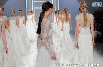 Los vestidos de novia Rosa Clará 2017 abren la BBFW