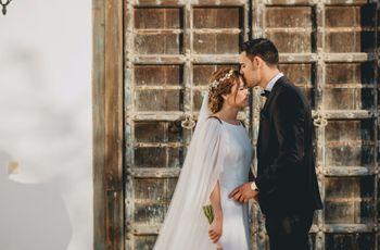 La boda de Laura e Iván: de una gran amistad a un gran amor