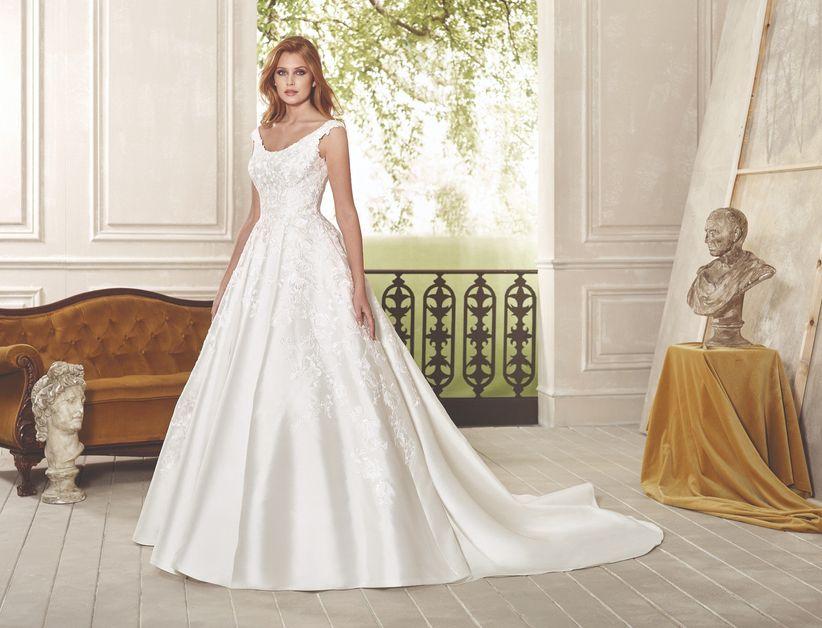 100 vestidos de novia de corte princesa para tu boda