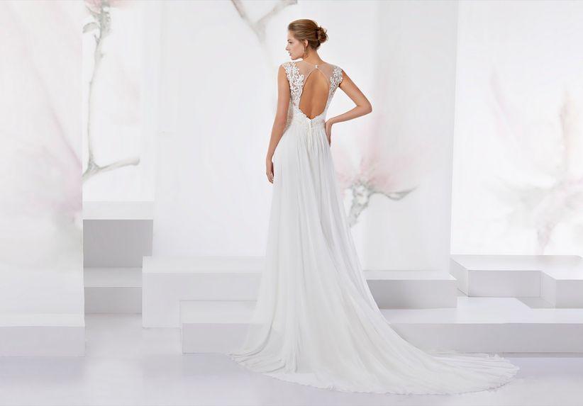 10 vestidos que te harán parecer más delgada en tu boda