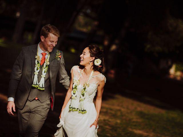 """La boda de Ross y Audrey: un """"sí, quiero"""" con inspiración tailandesa"""