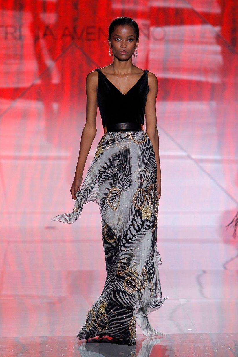 Vestidos Patricia Avendaño 2017, elegancia atemporal
