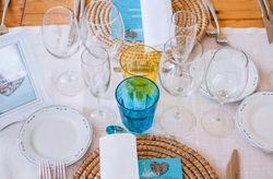 30 caminos de mesa para decorar las mesas del banquete