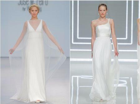 15 Vestidos de novia de estilo griego
