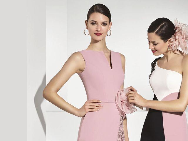 Vestidos de madrina de Franc Sarabia 2018: elegancia en estado puro