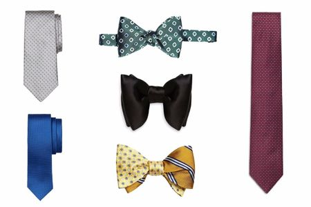 30 corbatas y pajaritas para el novio