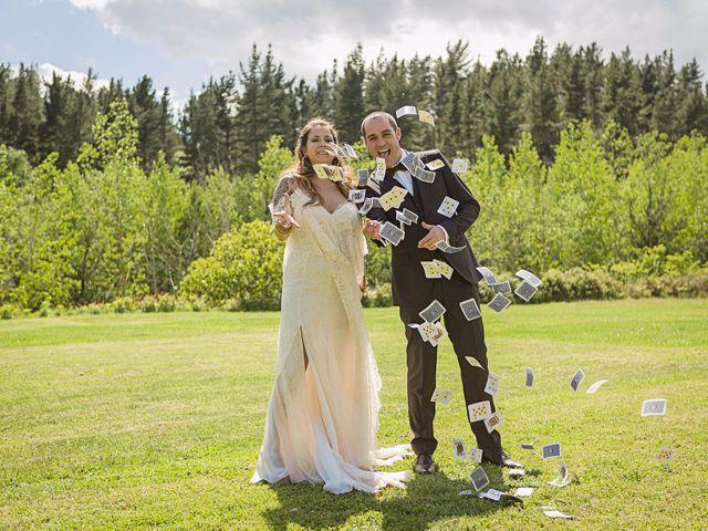 """La boda de Toni y Marta: de un cruce de miradas a un """"sí, quiero"""" de ensueño"""