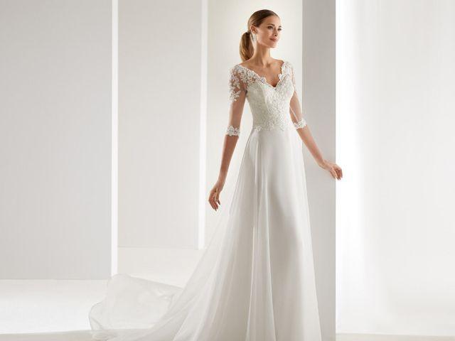 100 vestidos de novia con sensuales escotes en V