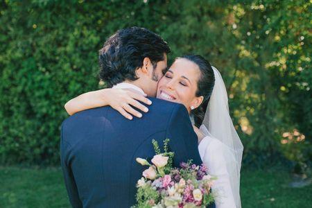 La boda de Rosa y Javier: un amor fruto de una amistad en común