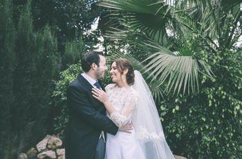 La boda de Lorena y Pablo: un amor único con sabor a feria malagueña