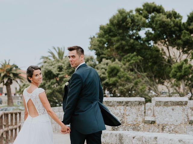 """La boda de Stefan y Marta: un """"sí, quiero"""" idílico en Baiona"""