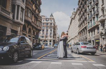La boda de Antònia y Pau: un amor nacido a través de internet