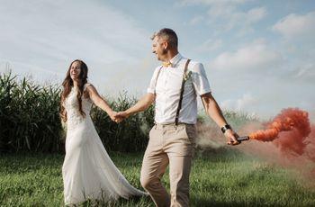 La boda de Manu y Paty: reinó el DIY en familia