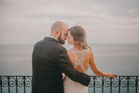 """La boda de Borja y Ana: un """"sí, quiero"""" con el primer amor"""