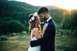"""La boda de Oriol y Montse: la naturaleza se convirtió en la protagonista de su """"sí, quiero"""""""