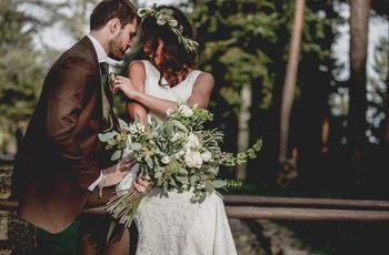 La boda de Wendy y Simon: ¡et voilà! Sí al amor entre dos culturas