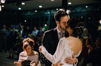 La boda de Toni y Amparo: el mes de octubre les brindó una gran oportunidad