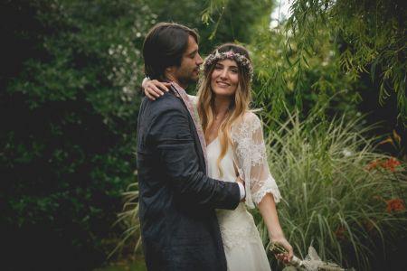 La boda de Selena y Valentí: ni siquiera la lluvia pudo con su mágico enlace