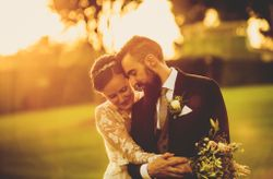 """La boda de Pilar y Xavi: un """"sí, quiero"""" de estilo rústico chic"""