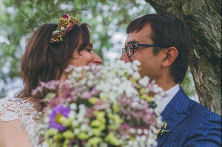 """La boda de Albert y Tania: un """"sí, quiero"""" en un paisaje de cuento"""