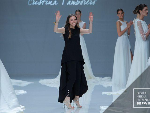 Vestidos de novia Cristina Tamborero 2019: puro romanticismo