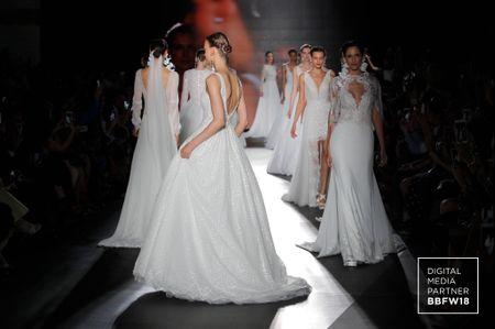 Vestidos de novia Rosa Clará 2019: feminidad en estado puro