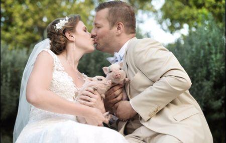 """La boda de Anna y Joe: en Andalucía encontraron el perfecto escenario para su """"sí, quiero"""""""