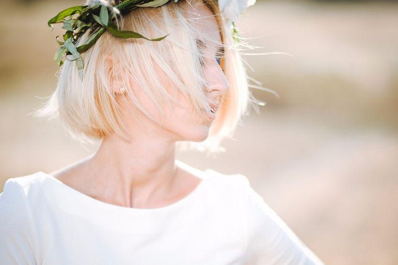 f92c793a6 Peinados para bodas con pelo corto  las 20 ideas más chic