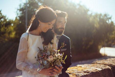 La boda de Uxía y Óscar: el primer, gran y último amor