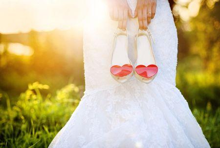 Zapatos de novia originales: 30 modelos únicos