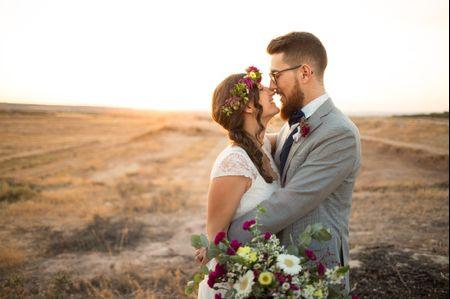 """La boda de Marta y Marc: un """"sí, quiero"""" de exquisito estilo hipster"""