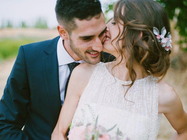 """La boda de Carmen y Borja: un """"sí, quiero"""" rodeado de naturaleza"""