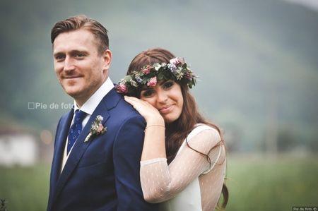 """La boda de Piers y Marta: un """"sí, quiero"""" de auténtica esencia rústico chic"""