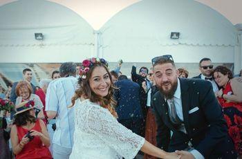 La boda de Pau y Esther: llena de salero y flow