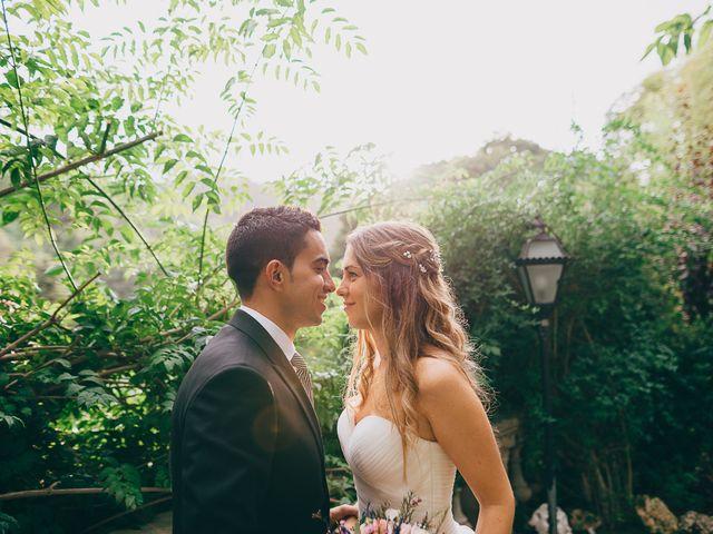 La boda de Ángel y Lara: estilo rústico con toques románticos