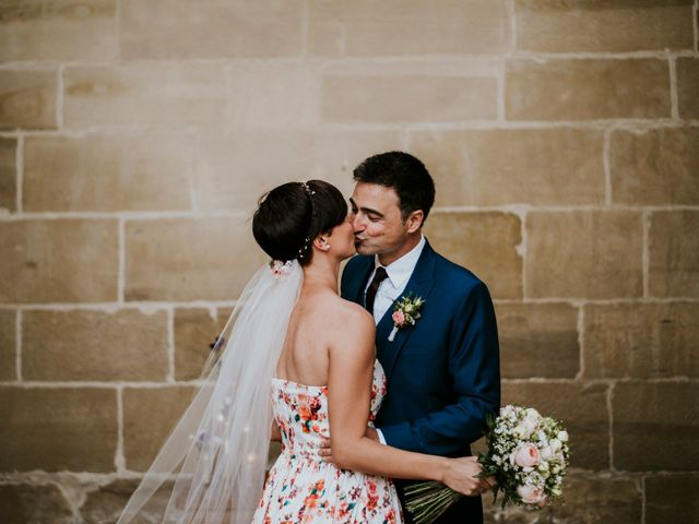 La boda de Alberto y Michaela: un amor nacido entre bodegas de vino