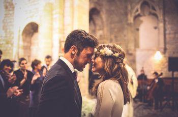 """La boda de Luis y Laia: un romántico """"sí, quiero"""" en el invierno del Empordà"""