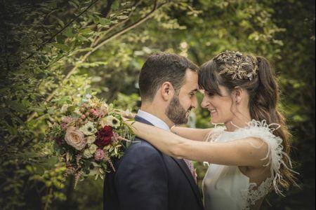 La boda de Agustín y Sara: rodeados de naturaleza