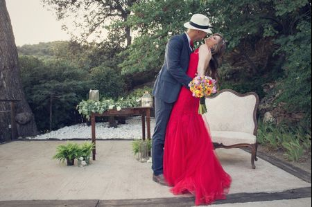 """La boda de Audry y José: elegancia, personalidad y color en un """"sí, quiero"""""""