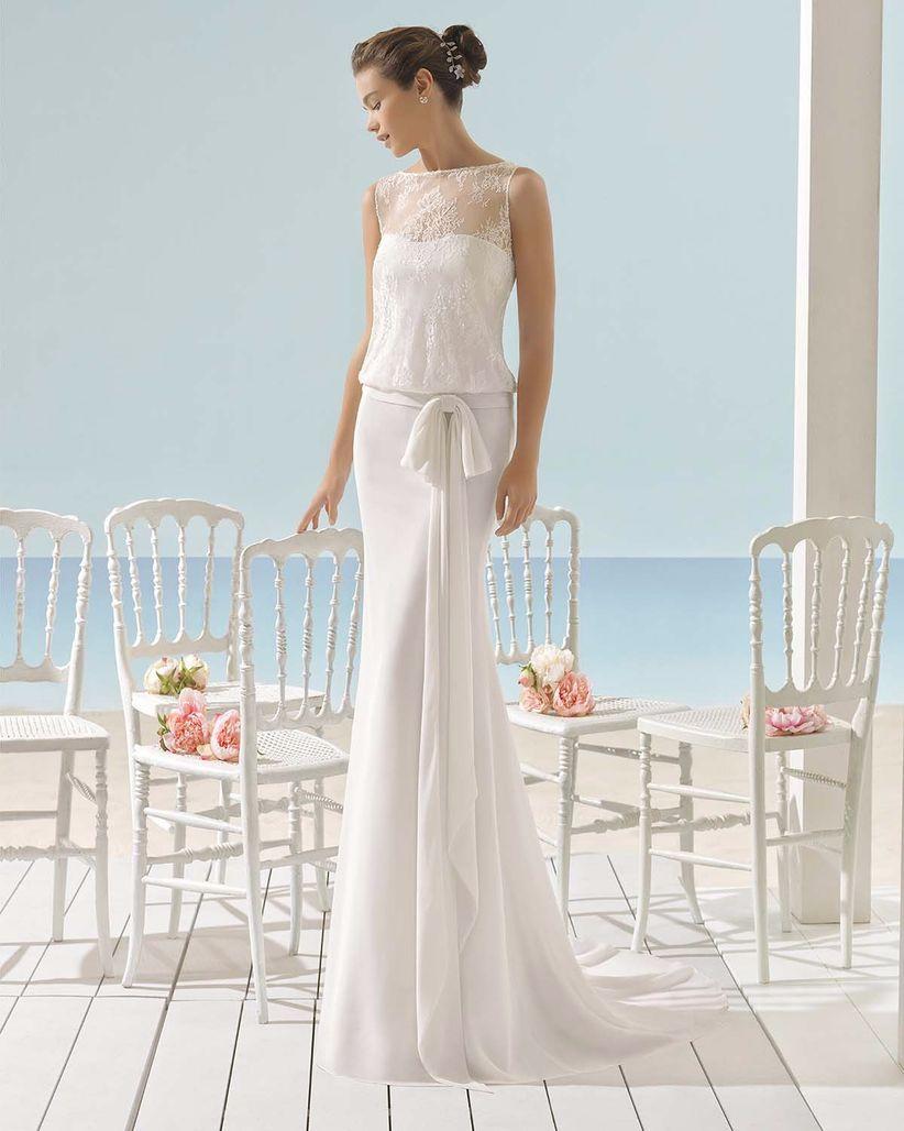 Contemporary Vestidos De Novia Aire Motif - All Wedding Dresses ...