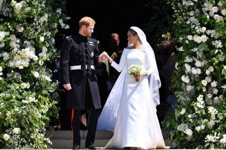 35 vestidos de novia parecidos al que lució Meghan Markle en su royal wedding
