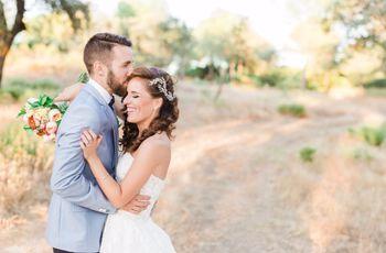 La boda de Jessica y Sergio: naturaleza, personalidad y un amor de toda la vida
