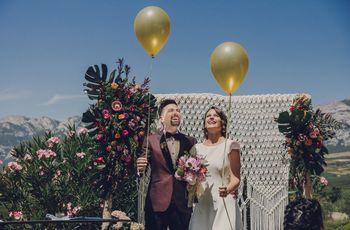 """La """"tropical wedding"""" de Julen y María: de mejores amigos a ¡marido y mujer!"""