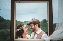 """La boda de Jessica y Oskar: un """"s�, quiero"""" al m�s puro estilo Gastby"""