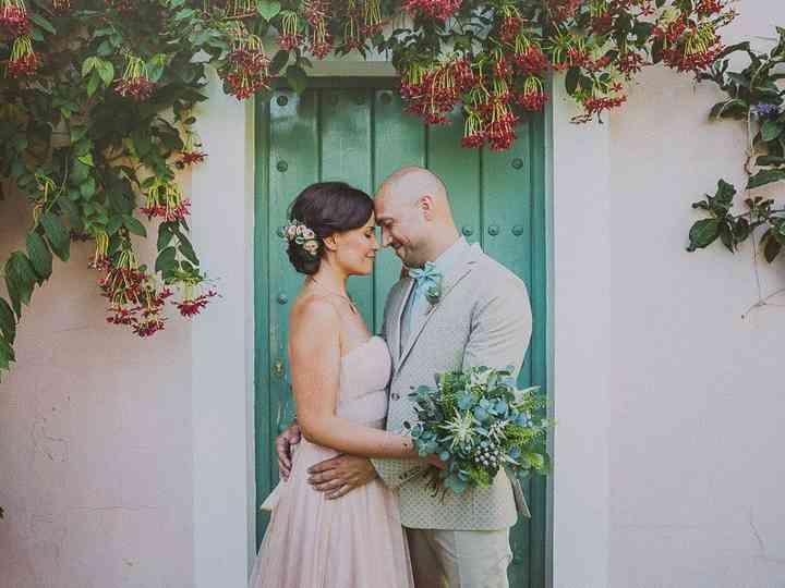 """La boda de Pili y Yahvé: un """"sí, quiero"""" mágico en el monte de Istán"""