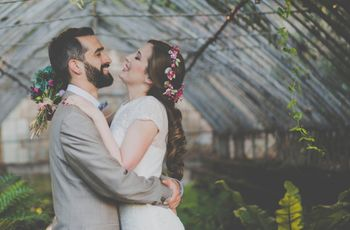 """La boda de Laura y Jesús: un """"sí, quiero"""" único alejado de convencionalismos"""